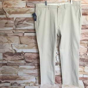 Tan Polo Ralph Lauren Classic Fit Pants, 40x32